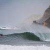 Roby D'Amico & Marlon Lipke salute a hollow wedge in the Algarve
