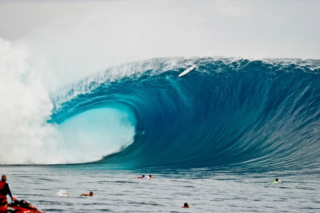 The weight of a wave