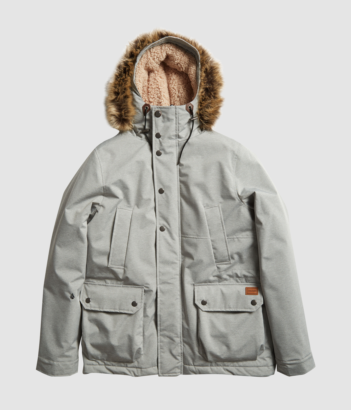 Volcom Lidward Parka Jacket in the Surfers' Christmas Gift Guide