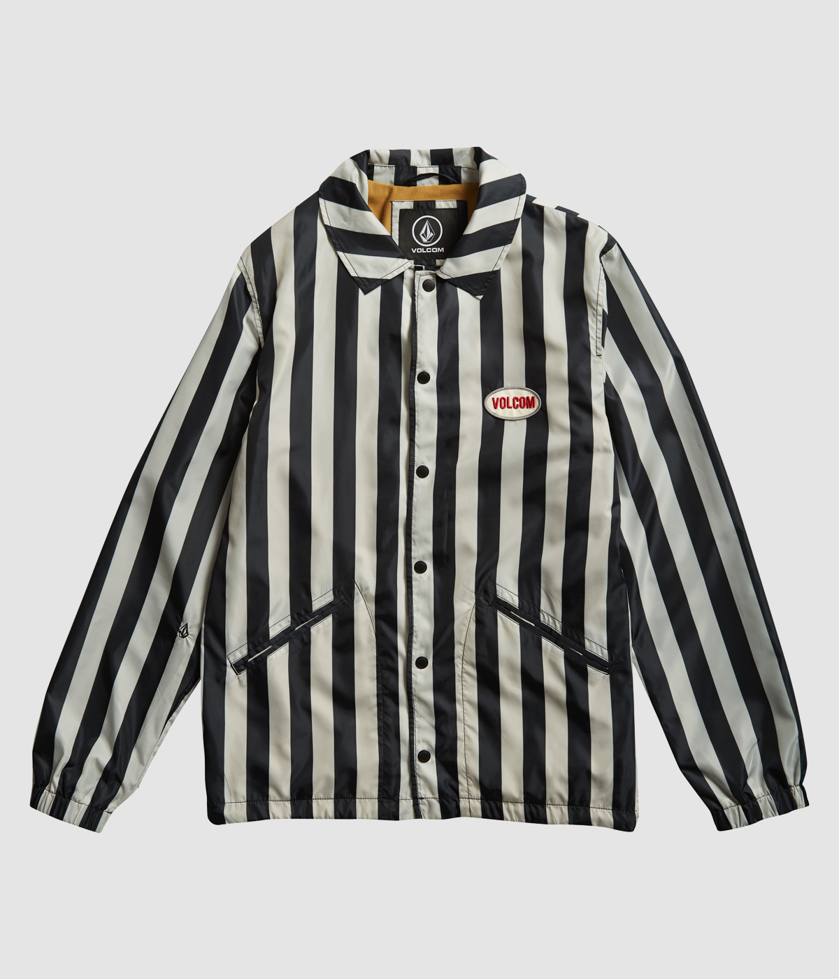 Volcom Brews Striped Coach Jacket in our Surfers' Christmas Gift Guide 2018