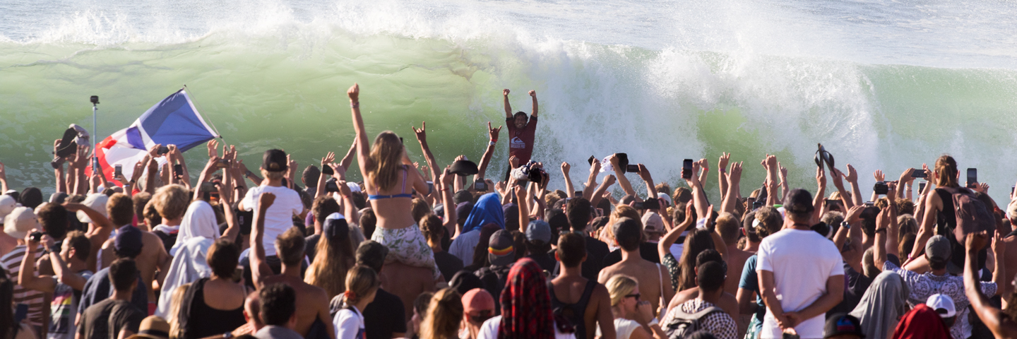 Jeremy Flores Scores Historic Victory On Incredible Finals Day At The Quik Pro France