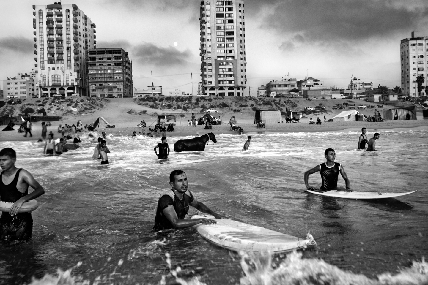 Between Struggle & Rubble; The Besieged Surfers Of Gaza