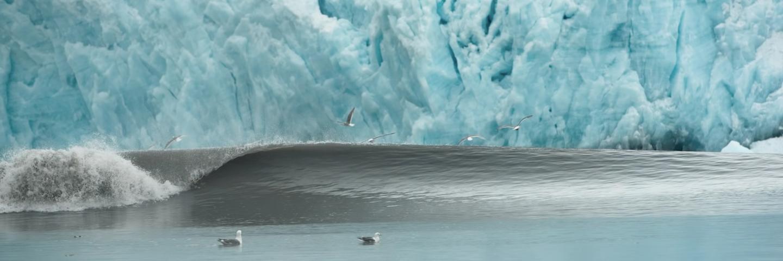 WATCH: Dylan Graves Goes Glacier Surfing In Alaska