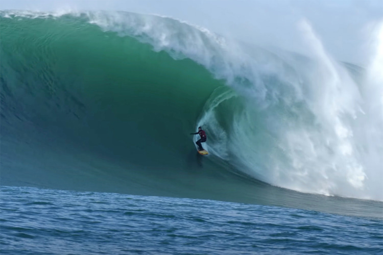 Listen: Mav's GOAT Peter Mel on an Historic Winter North Pacific Winter - Wavelength Surf Magazine - since 1981